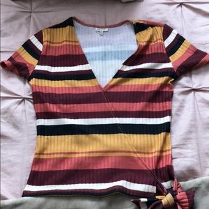 Tops - Stripe shirt size small!